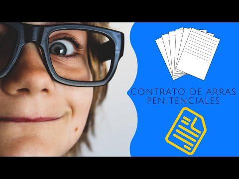 CONTRATO DE ARRAS O SEÑAL PARA COMPRAR UNA CASA. ¡TODA LA VERDAD! from YouTube · Duration:  3 minutes 24 seconds