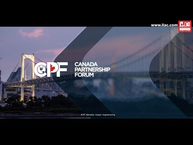 Canada Partnership Forum, Japan 2018 #CPF