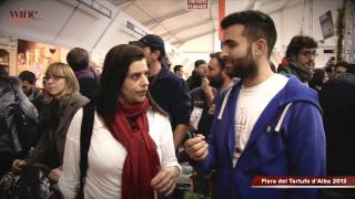 Alba Truffle Fair 2013 - Flash Interview - I'm from Brazil
