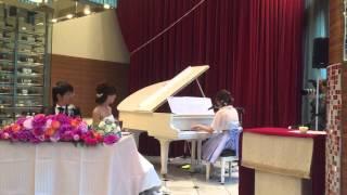 親友の結婚式でピアノ弾き語りをしました。 Best Friend / Kiroro スピ...