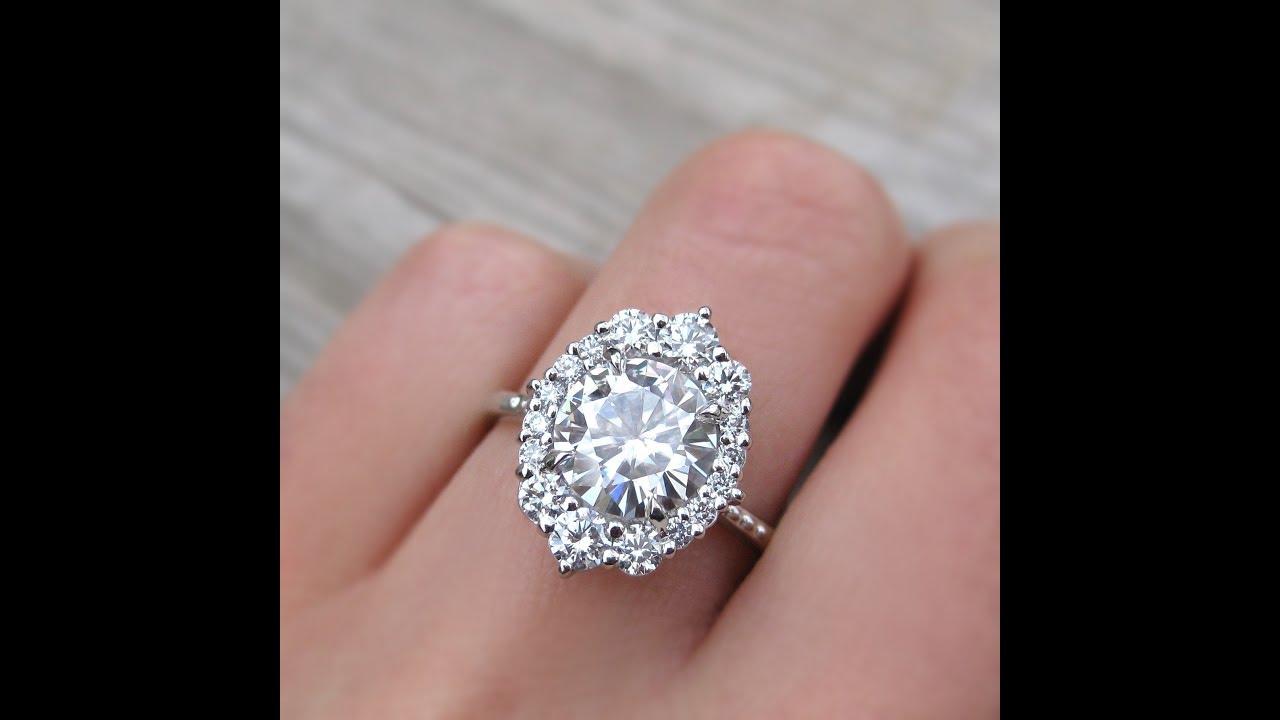 Diamond rings Design - YouTube
