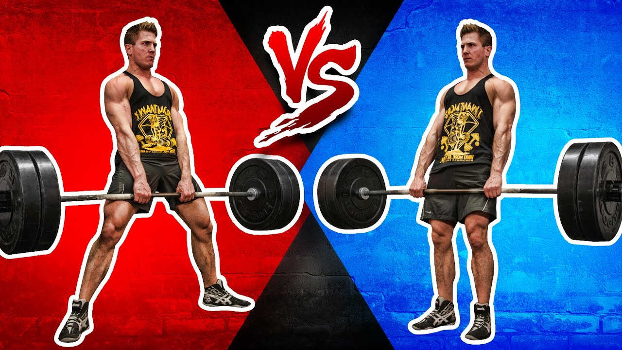 sumo deadlift vs conventional deadlift which builds more