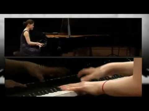 Robert Schumann 12 Etudes Symphonic playd by Zhang Zuo(Zee Zee)