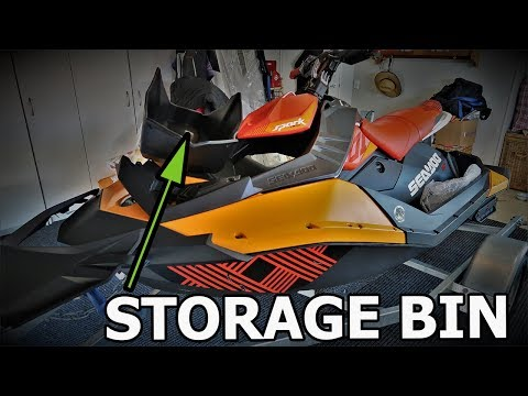 Sea-Doo Front Storage Bin Kit for Spark 295100504