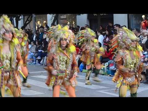 Desfile De Carnaval De Badajoz.La Pava And Company.23-2-2020.