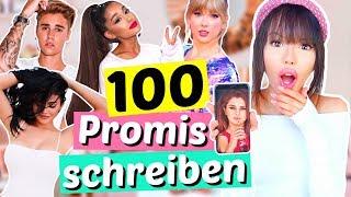 Wir bekommen Antworten!! 😱 100 PROMIS auf Instagram anschreiben 🙊 | ViktoriaSarina