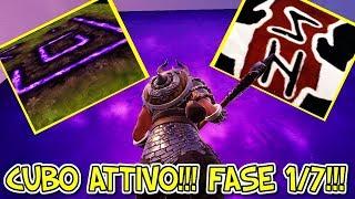 *CUBO ATTIVATO!!!* SCOPERTE RUNE ANTICHE!!! MAPPA FORTNITE DISTRUTTA DA RAGNAROK!!!