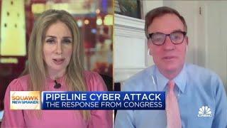 Senate Intelligence Committee Chair Mark Warner on Colonial Pipeline hack