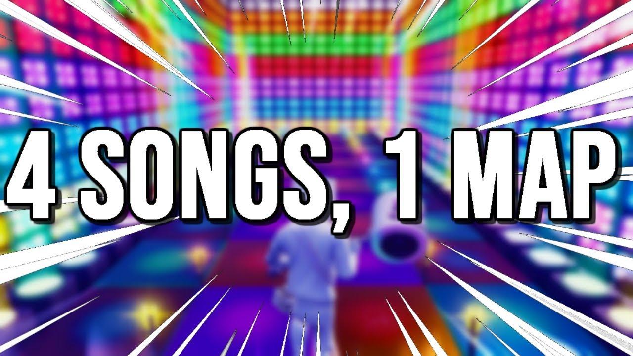 fortnite music creative island codes