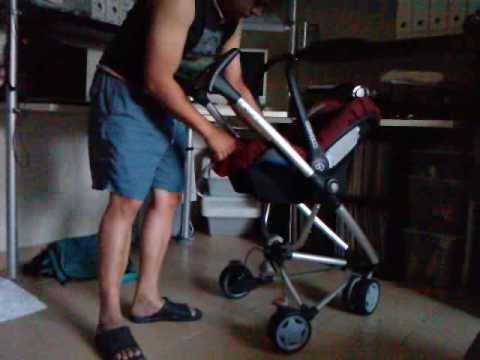 Kirsten S Car Seat And Stroller Push Chair Youtube