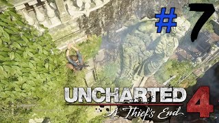 Live Uncharted 4 : A Thief's End Part 7 ps4 pro