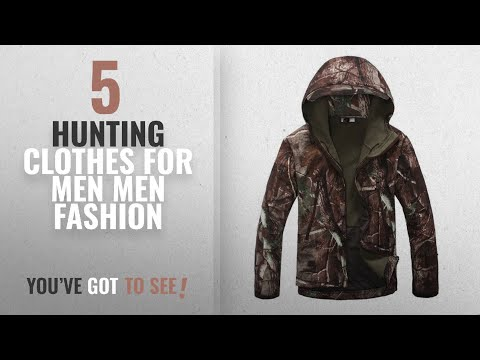 Top 10 Hunting Clothes For Men [Men Fashion Winter 2018 ]: Eglemall Men's Outdoor Hunting Soft Shell