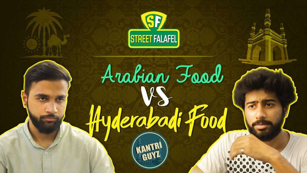 Arabian Food VS Hyderabadi Food || Funny Hyderabadi Comedy || Kantri Guyz
