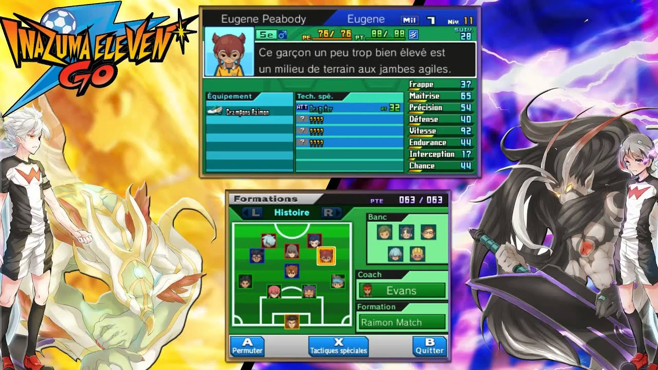 #09 La Foi toute puissante - Inazuma Eleven Go Ombre / Lumière Let's Play FR HD