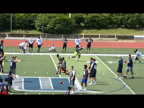 2015 WR  ** Geordan Clark **  Camp Film ( North Point High School )