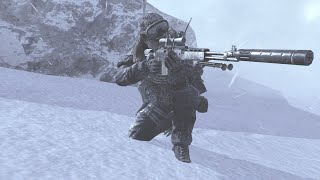 Call of duty modern warfare2 walkthrough mission 3 Cliffhanger #part 3 cod ,stealth mission