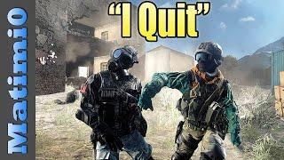 """I Quit"" - Battlefield 4"