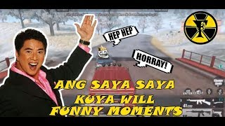 ANG SAYA SAYA KUYA WILL | RULES OF SURVIVAL FUNNY MOMENTS | RULES OF SURVIVAL PH | WTF MOMENTS