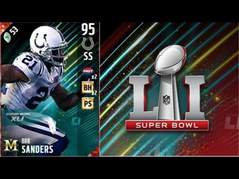 Super Bowl Bob Sanders | Player Review | Madden 17 Ultimate Team Gameplay