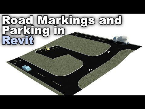 Road Markings and Parking in Revit Tutorial thumbnail