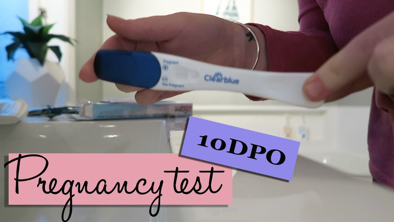 Pregnancy test at 10DPO! | The Femara diaries #9