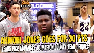 PIke Takes DOWN BD | Ahmoni Jones Goes for 30 In The Marion County Tournament