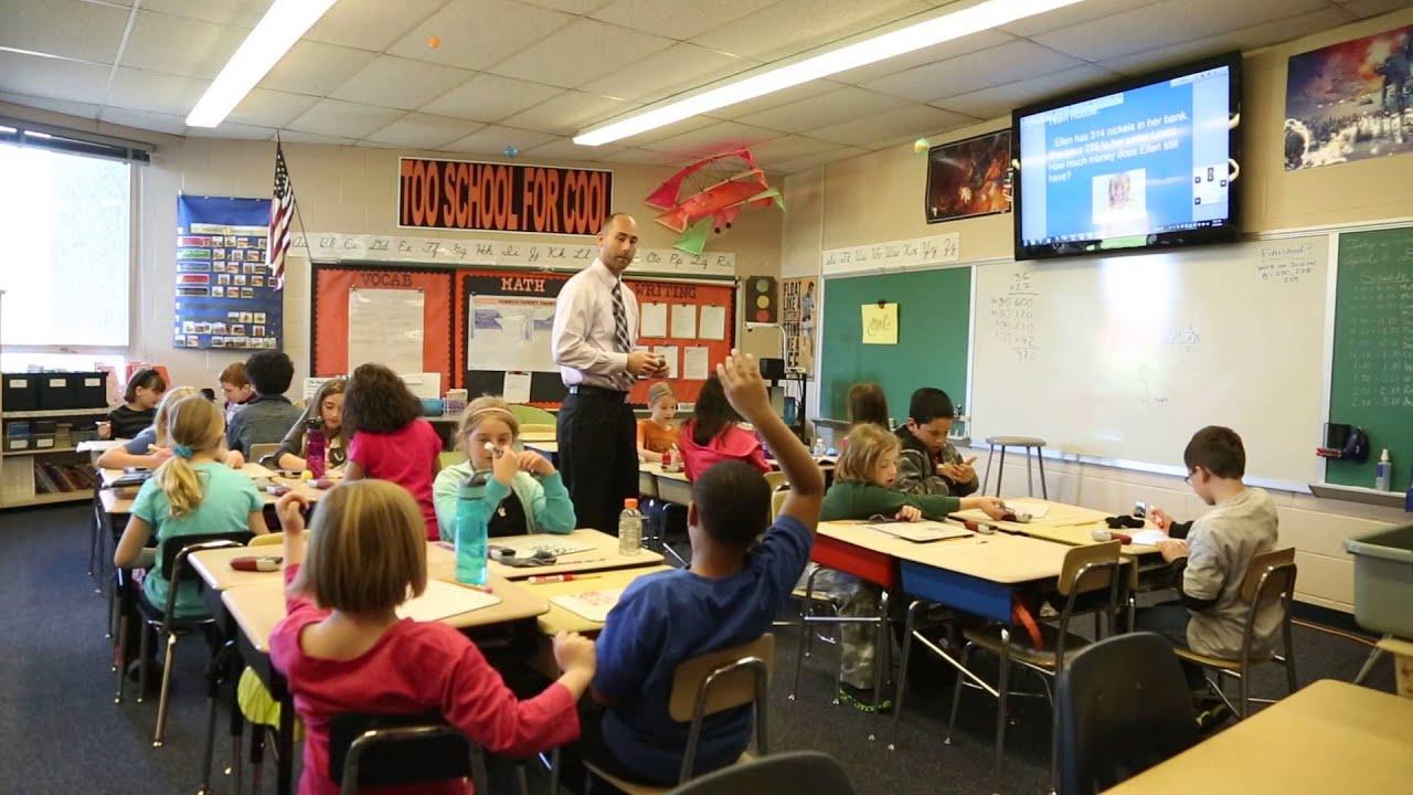 Elementary Classroom Playlist ~ Raw video orendorf elementary teacher marcus billings