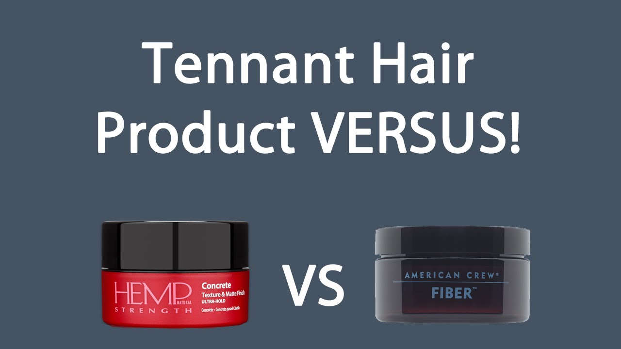 fiber hair styling product tennant hair product versus alterna hair concrete vs 7725