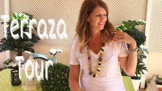 HOUSE TOUR POR MI TERRAZA / Como decorar una terraza verano 2018