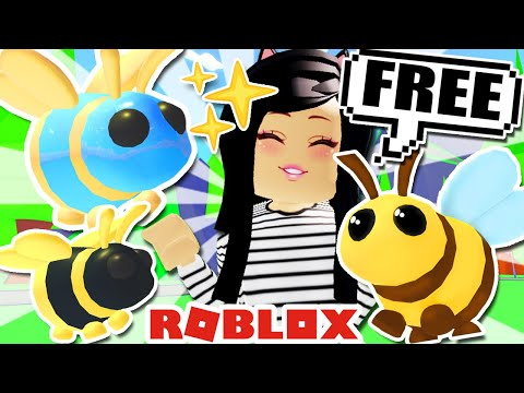 How To Get FREE 🐝BEE PET🐝 in ADOPT ME! Roblox UPDATE LEGENDARY Queen King