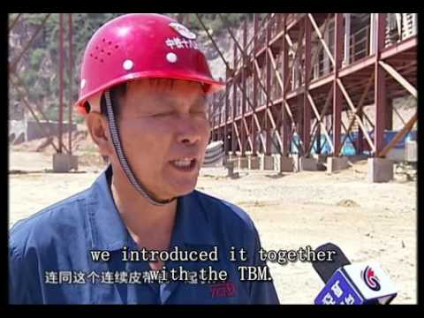 Yankuang TV report HUAXIA HHE1600 Shanxi China Project Compress
