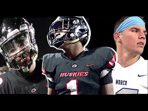 Image result for Battle In The IE ! POWERHOUSE Corona Centennial (CA) v Norco (CA) Led By 6'6 Oklahoma St QB Commit