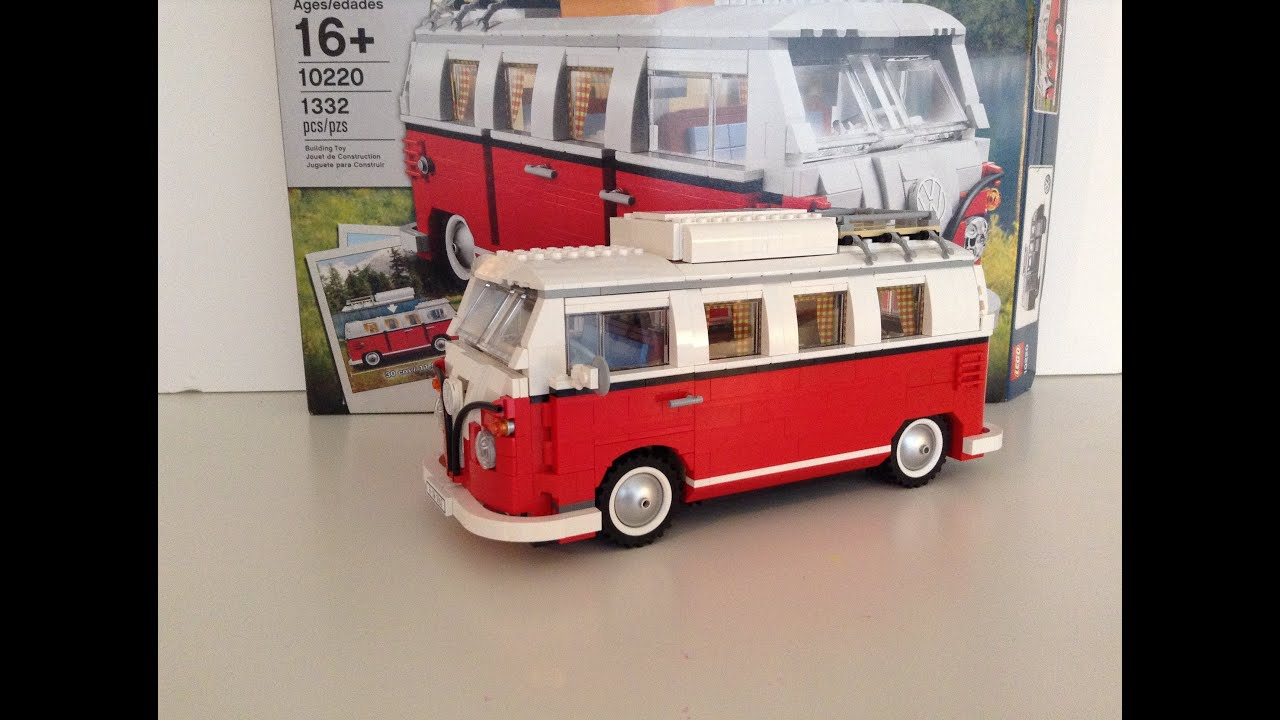 Lego 10220 Vw T1 Campervan Review Youtube