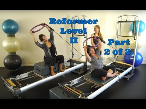 Upside-Down Pilates - Reformer Level II Part 2 of 3