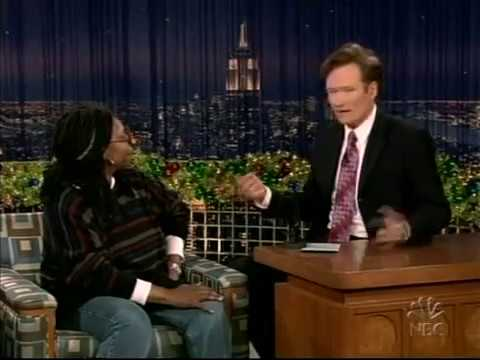 Conan O'Brien 'Whoopi Goldberg 12/22/04 (Christmas)