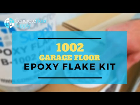 1002 Garage Floor Epoxy Flake Kit
