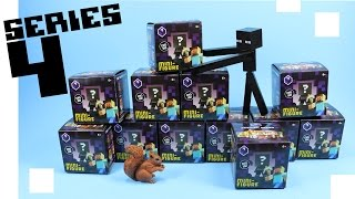 Minecraft Mini-Figure Obsidian Series 4 Collection Review & Codes