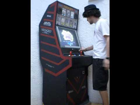 Borne Arcade Neo Geo Puzzle Bubble Youtube