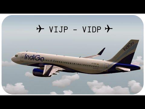 VATSIM Group Flight   Almost Mid Air Collision   IndiGo A320   VIJP - VIDP   Low Graphics