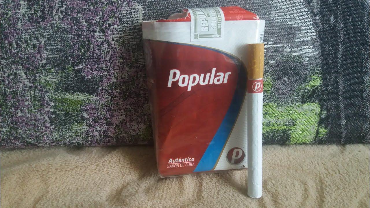 купить сигареты популяр куба