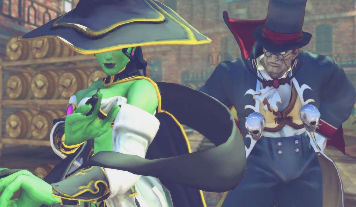 Witch Rose Vs Count Rolento [Ultra Street fighter 4 Halloween ...
