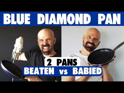 Blue Diamond Pan Double Review: One Beaten, One Babied!
