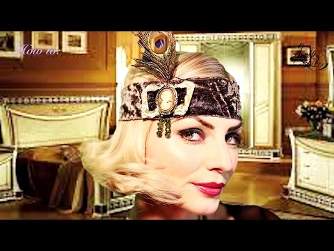 Flapper Headband_Tutorial_20s hair