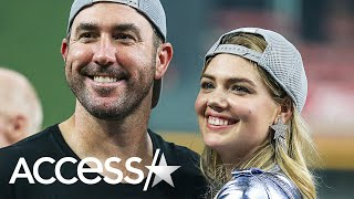 Kate Upton Goes Wild Cheering On Husband Justin Verlander And The Houston Astros