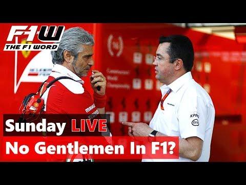 Sunday Live Replay: No Gentlemen In F1?
