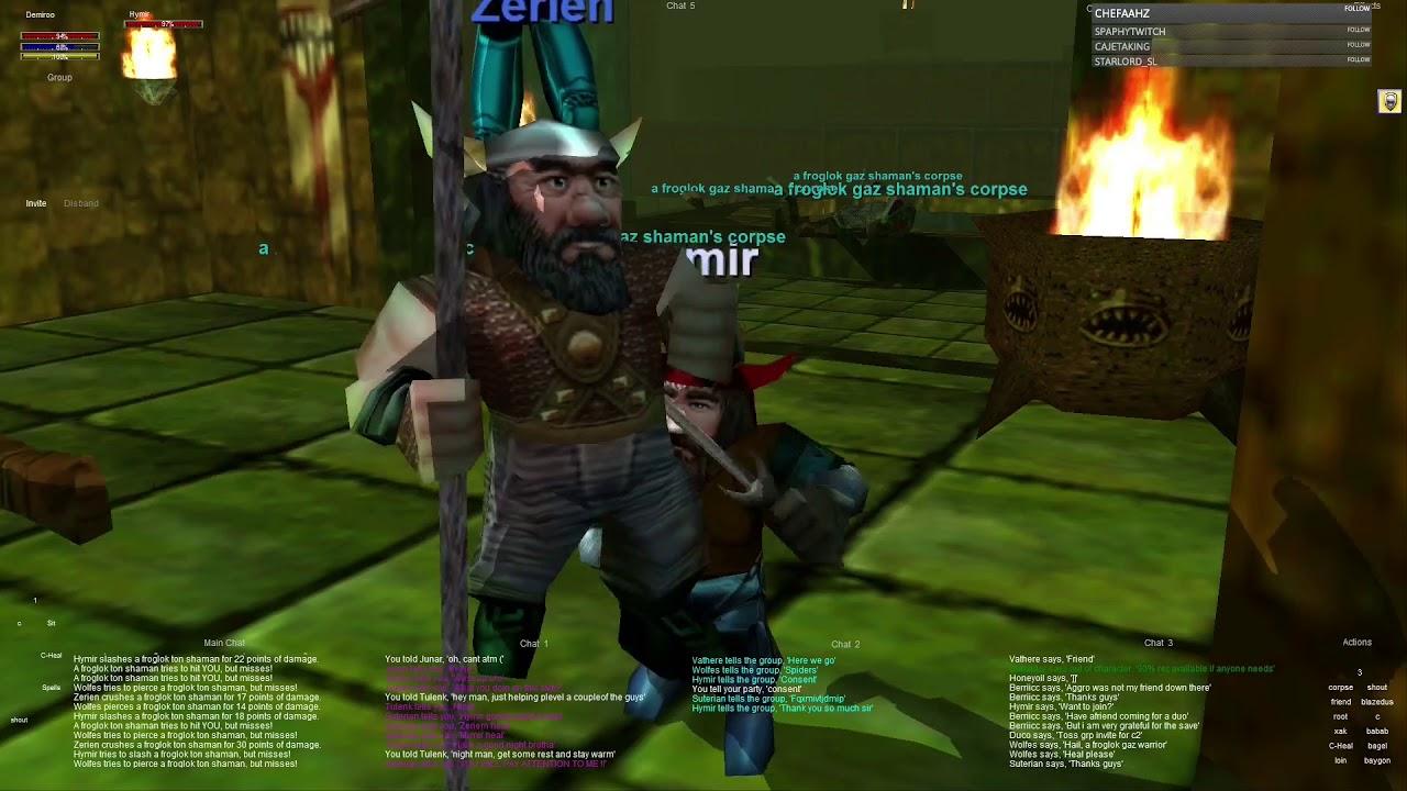 Everquest old school : Part 28 - Srcyer Group - Upper Guk - Wood Elf Ranger