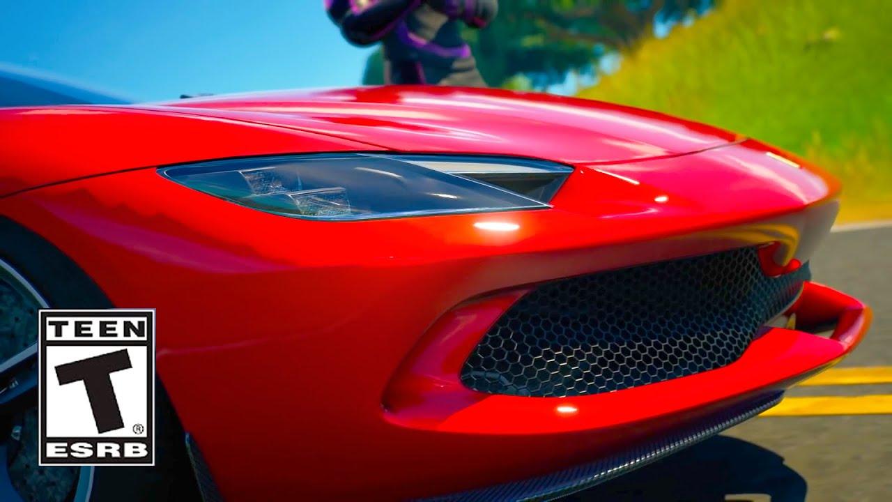 Fortnite Ferrari Trailer