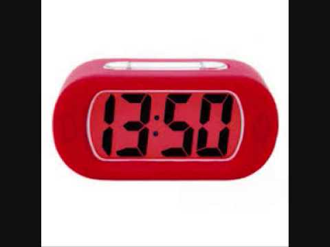 Digital alarm clock sound effect beeping sounds