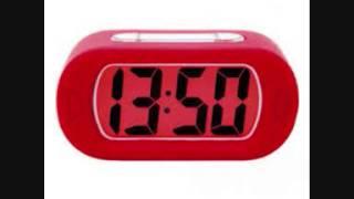 Digital alarm clock sound effect beeping sounds