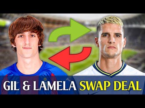 **BREAKING NEWS** Tottenham Finalizing £25M Plus Erik Lamela For Bryan Gil